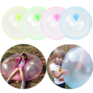 Summer Children Outdoor Magic Bubble Ball Soft Air Water Filled Ball Blow Up Toys Home Party Fun Game Gift Bath Balloon Toys(China)