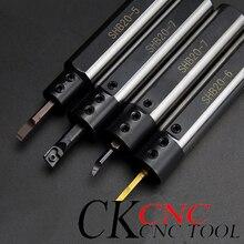 SHB 10/12/16/20 di Alta qualità del foro interno coltello manica/tornio manica/piccolo diametro CNC coltello speciale coltello antiurto