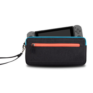 Image 2 - 新しい ns nintend スイッチ収納袋スリムキャリングケース保護任天堂コンソール喜び con ゲームアクセサリーハンドバッグ