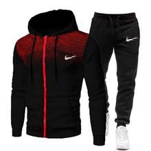 2021 Spring Fashion New Tracksuit Running Sets Mens Sport Suits Jogging Fitness Sportwear 2Pcs Sets High Quality Brand Clothes