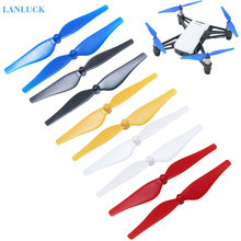 4pcs Colorful Propeller Quick Release Propeller for DJI TELLO Mini Drone CCW CW Props Replacement Props Blade Parts masiken 4pcs quick release propellers for dji tello mini drone propeller ccw cw props drone accessories
