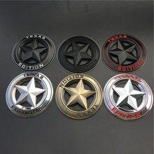 1 шт 3d металлическая эмблема «texas edition» наклейки для автомобиля