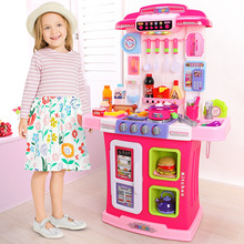 Игровой домик Модель кухонные принадлежности детский набор игрушек Северная Америка материк Китай Приготовления детей девочек мальчик маленький
