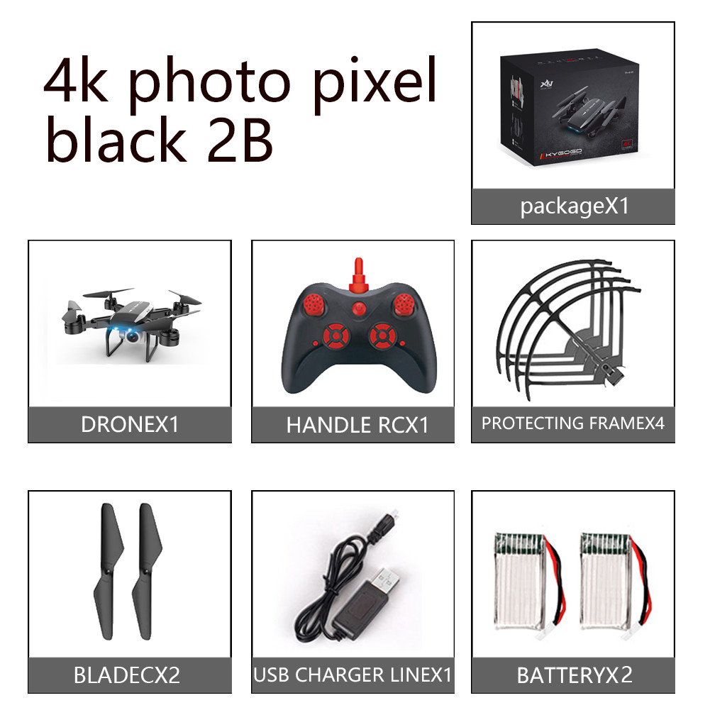 New professional KY606D RC Foldable Drone 4k Quadcopter long fly time fpv Helicopter With 4K HD Wifi Camera Dron VS ky601s drone
