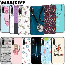 WEBBEDEPP Nurse Medical Medicine Health Soft TPU Case for Xiaomi Mi 6 8 A2 Lite 9 A1 Mix 2s Max 3 F1 9T A3 Pro CC9E Cover