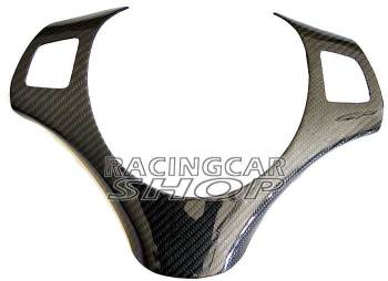 Real Carbon Fiber Steering Wheel Trim Cover for BMW E87 1-series B274Y 1