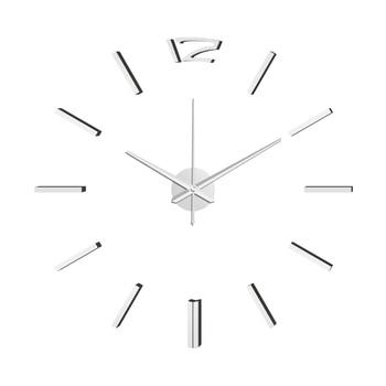 50cm 3D Wall Clock Modern Design DIY Acrylic Mirror Stickers Clock for Living Room Bedroom Home Decor Large Silent Elreloj Mural 10
