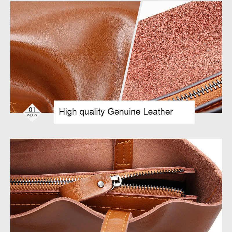 Vintage bolsos de mano de cuero genuino para mujer grandes bolsos de mano para mujer bolsos de oficina de alta calidad bolsos de hombro para mujer 2019