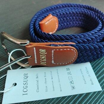Colorful Elastic Polyester Belt for Boys 4
