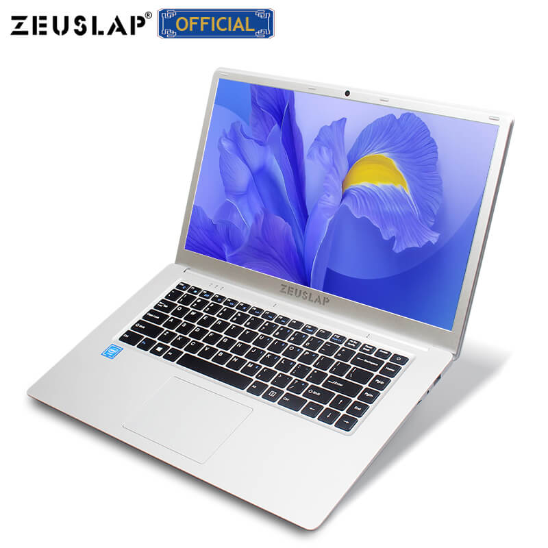 ZEUSLAP 15,6 дюймов Intel четырехъядерный процессор 4 ГБ ОЗУ + 64 Гб eMMC Windows10 двухдиапазонный Wifi 1920*1080P нетбук ноутбук компьютер
