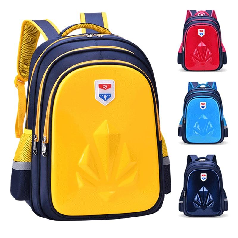 NEW Children Schoolbags For Teenagers Kids Cartoon Comfortable Back Orthopedics School Backpacks Girl School Bags Boys Backpack