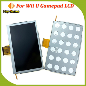Replacement Game Accessories Touch Screen Digitizer Glass LCD Screen Fit For Nintendo Wii U Gamepad repair parts lcd screen