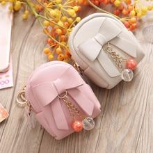 Coin Purse Clutch-Bag Floral-Pendant Mini Wallet Small Ladies Handbag-Bag Card-Key-Holder