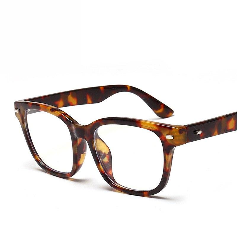 Clássico azul luz bloqueando óculos mulher homem moldura óptica óculos vintage miopia quadros óculos oculos de grau