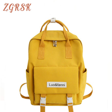 Fashion Nylon Backpack Bagpack For Women Backpacks Bag Female School Bags For Teenage Girls Book Schoolbags High Quality women backpacks leather female backpack fashion high quality college students school bags schoolbags backpacks for teenage girls