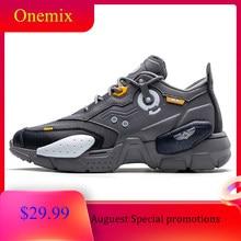 ONEMIX unisex Turnschuhe Leder Laufschuhe Im Freien Zu Fuß Herren Schuhe Sport Fashion Professional Trainer Sneaker Schuhe