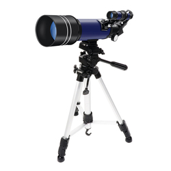 Retail Astronomical Telescope 70mm Refractor Telescope Moon Watching for Kids Adults Astronomy Beginners 16X 67X Lens with Finde