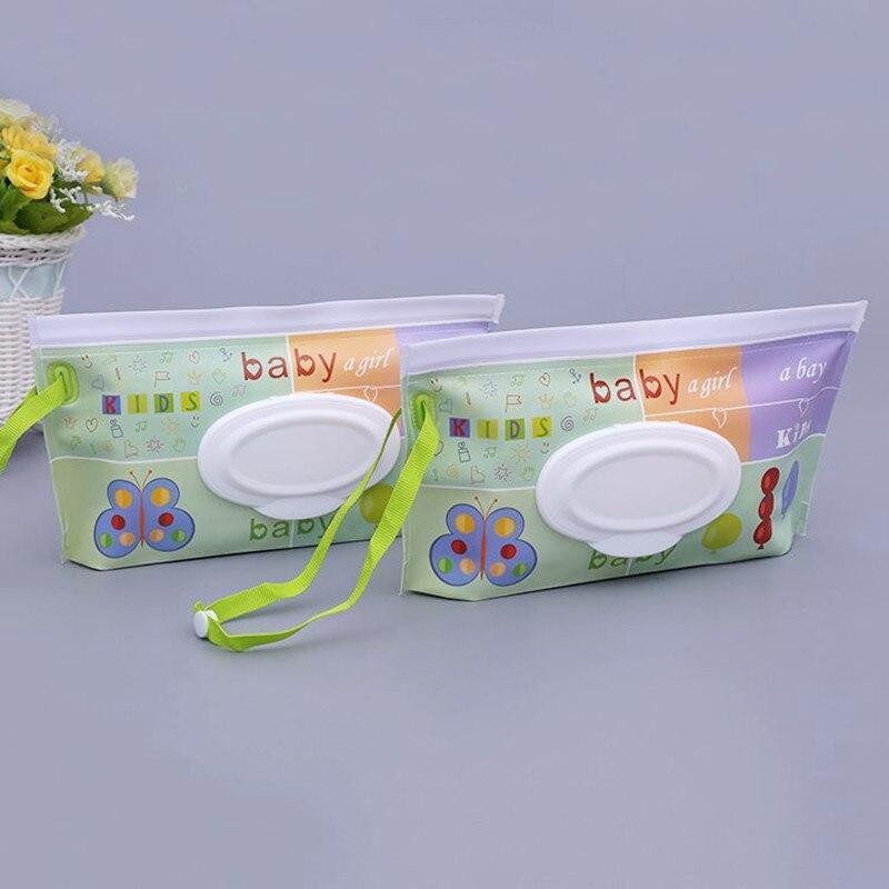 1 клатч и чистые салфетки, чехол для переноски, экологически чистые влажные салфетки, сумка-раскладушка, косметичка, удобная для переноски, с застежкой, контейнер для салфеток - Цвет: C