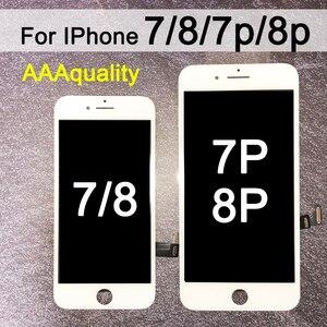 Image 1 - החלפה עבור iPhone 7 LCD מסך Digitizer עצרת עם תצוגת מגע עבור iphone 7 בתוספת LCD עבור iphone 8 LCD עבור iphone 8p