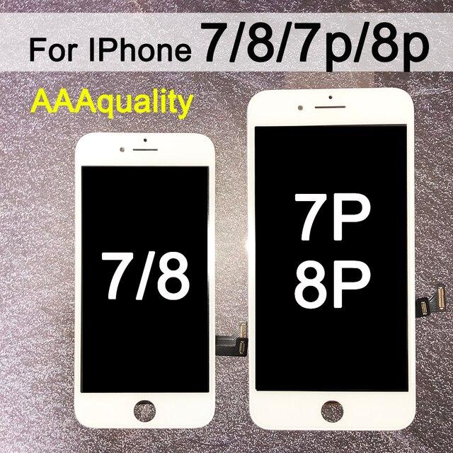 החלפה עבור iPhone 7 LCD מסך Digitizer עצרת עם תצוגת מגע עבור iphone 7 בתוספת LCD עבור iphone 8 LCD עבור iphone 8p