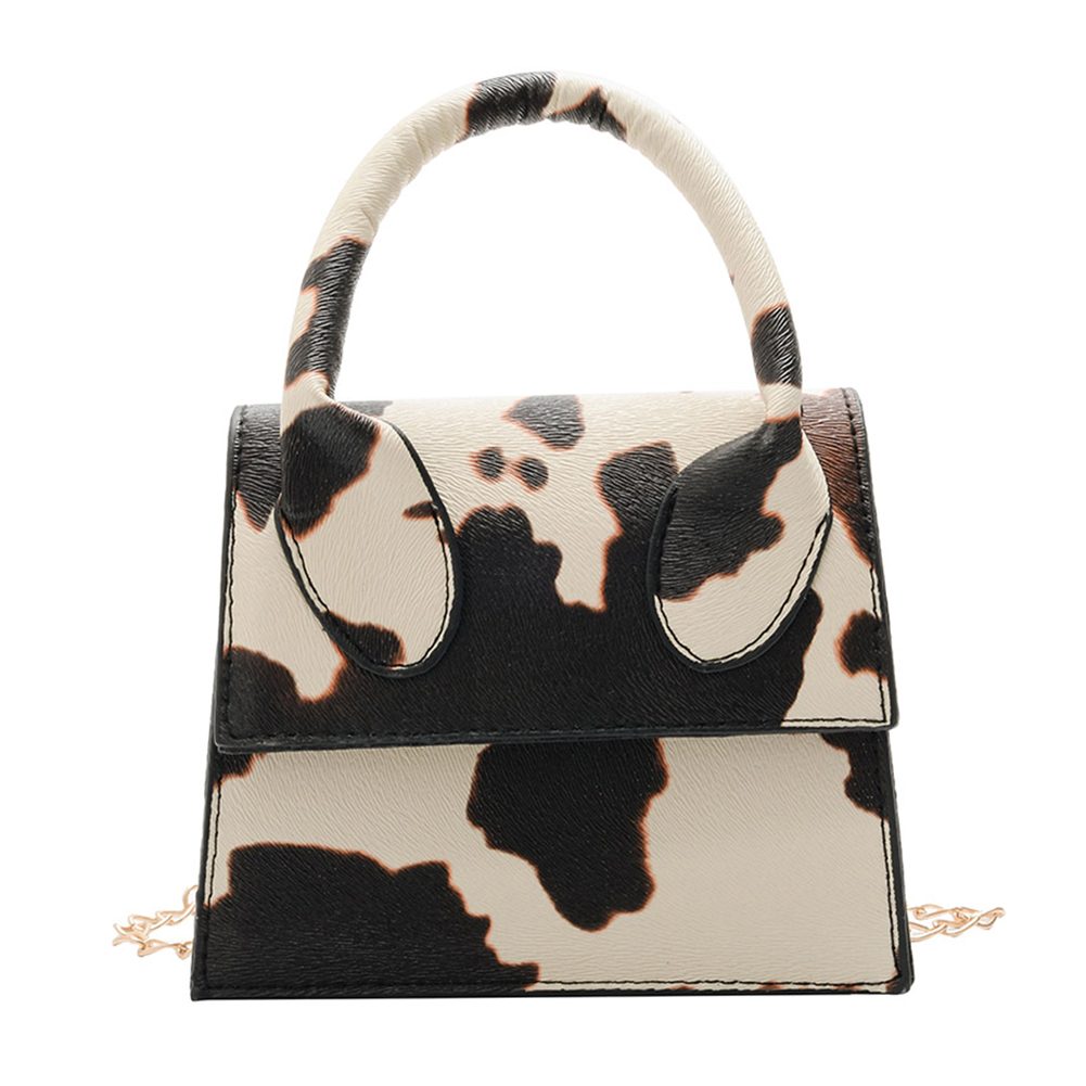 Mini Crossbody Bags For Women 2020 Pu Leather Cow Print Purses and Handbags New Designer Ladies Shoulder Messenger Bag
