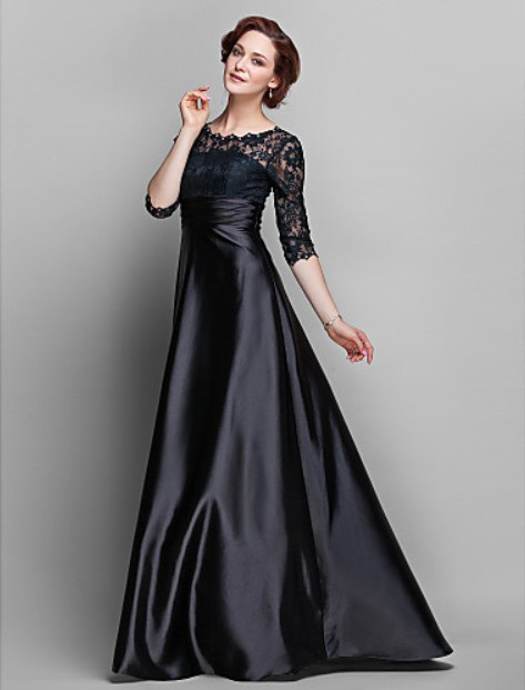Dresses New Fashion 2014 Sexy Vestidos De Fiesta Casual Brief Dress Party Gown Lace Mother Of The Bride Dresses With Sleeves