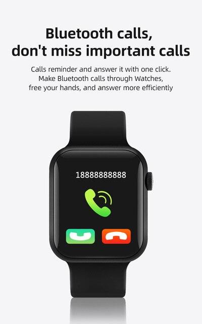 Smart Watch T900 Bluetooth Call Music Heart Rate Sports Smartwatch 44MM 6