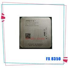 جديد AMD FX سلسلة FX 8350 FX 8350 4.0G 125W ثمانية النواة معالج وحدة المعالجة المركزية FD8350FRW8KHK المقبس AM3 + FX 8350 وحدة المعالجة المركزية