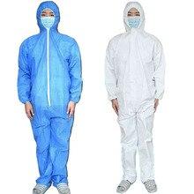Анти-Защитный Костюм Медицинский Хирургический Одежда Анти-Плевать Защитной Одежды Одноразовые Безопасности Комбинезон Изоляции Бактерий
