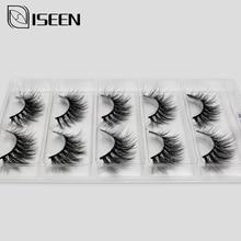 5 Pairs 3D Mink Eyelashes False Eyelashes Natural Long /Thick 3D Eyelashes Crisscross Full Strip Handmade Lashes Makeup