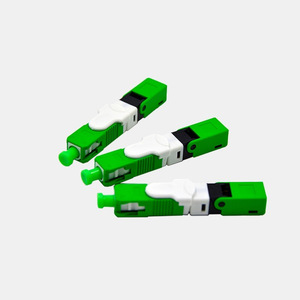 FTTH ESC250D APC Одномодовый волоконно-оптический SC APC Быстрый полевой монтажный разъем