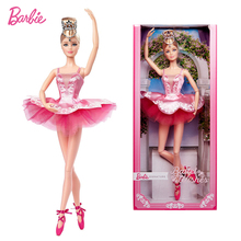 Barbie Signature Ballet Wishes Doll Wearing Tutu Collector Keith Haring Doll Toys for Girl Gift 12-inch