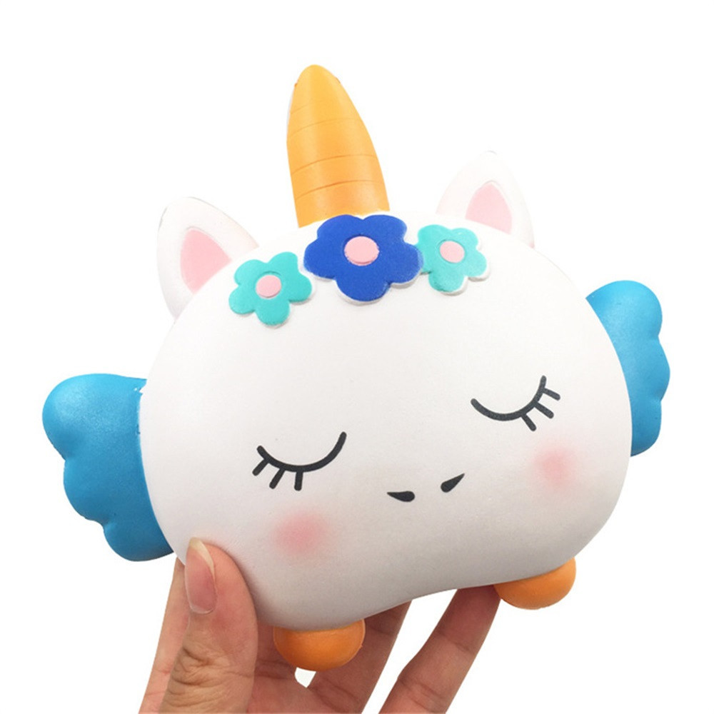 Squishy Cartoon Slow Rising Squeeze Stress Reliever Toys Antistress Decompression Toy Gift Anti-stress Office Toy #B