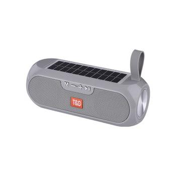 Solar charging Bluetooth Speaker Portable Column Wireless Stereo Music Box Loudspeaker Outdoor Waterproof altavoces 9