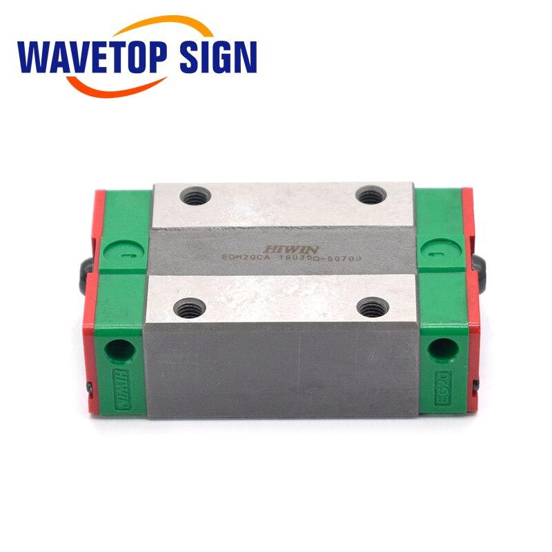 HIWIN Линейная направляющая слайдер EGH15CA EGH20CA EGH25CA EGH30CA EGH35CA использование для линейной рельсы CNC Diy части