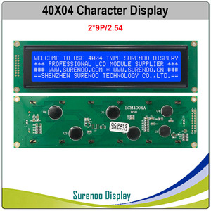Image 3 - 404 40X4 4004 Character LCD Module Display Screen LCM Yellow Green Blue with LED Backlight Build in SPLC780D Controller