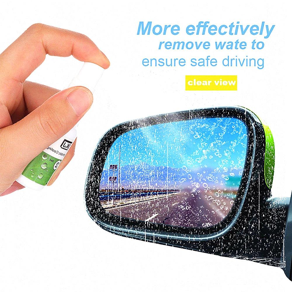 Car Glass Windshield Rearview Mirror Side Windows Waterproof Rainproof Nano Hydrophobic Coating Auto Maintenance Accessories