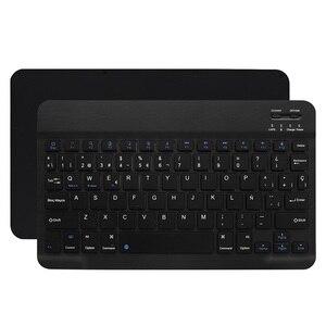 Image 5 - 超スリムアラビアロシアスペインbluetoothキーボードタブレットラップトップ、スマートフォンwindowsサポートのios androidシステム