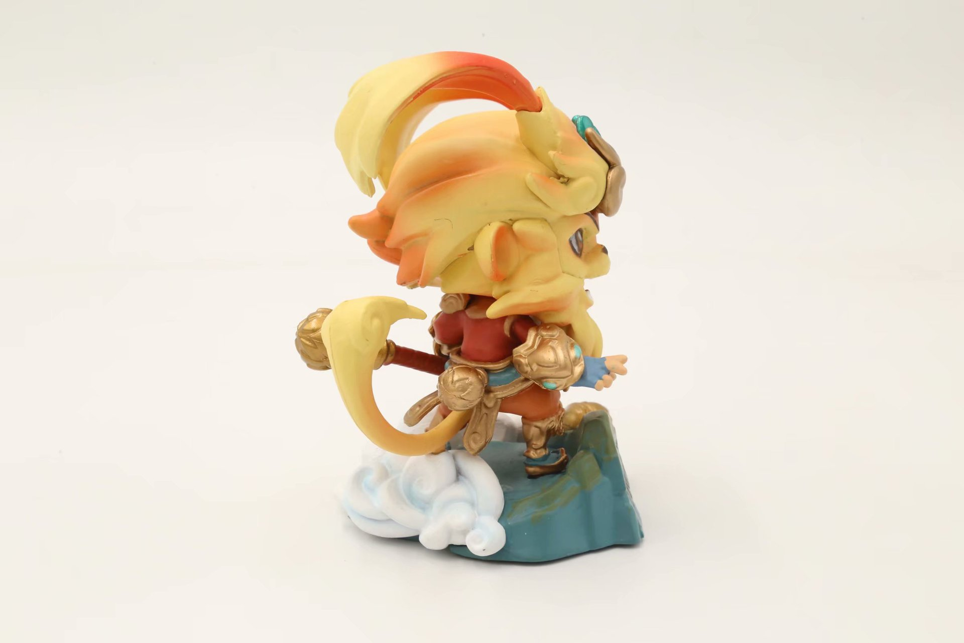 LoL League S7 Year Of The Monkey Limited Edition Sun Wukong Monkey King Boxed Garage Kit