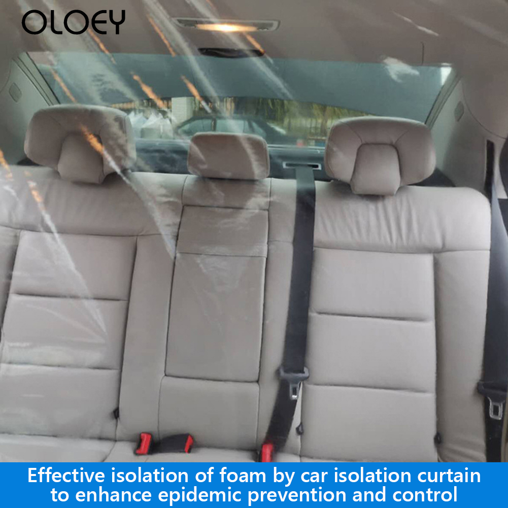 Car Anti-Epidemic Ordinary Layout Operation Conveninently Partition Screen Protection Film for <font><b>Uber</b></font> Taxi Driver 1.37x1.8m image