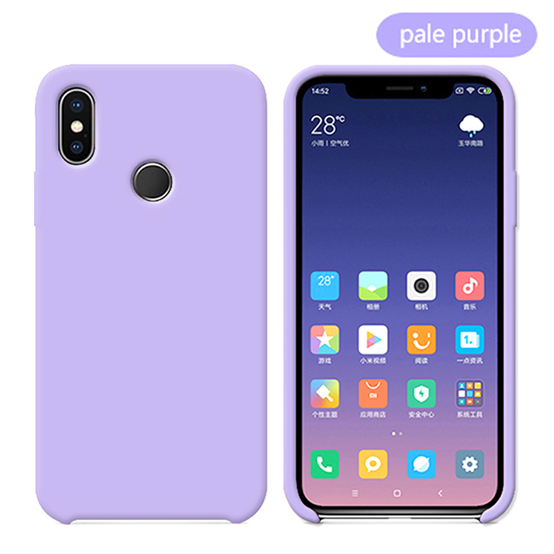 Official Style Silicone Case For Xiaomi Redmi Note 8 7 6 5 K20 Pro 8A 8T 4X 5 Plus S2 Mi 9 8 SE 9T Pro 8 Lite A2 Mix 2s 3 Cover(China)