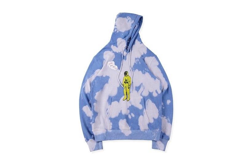 ASTROWORLD World US Hiphop Star Travis Scott Astronaut Printed Tie-dye Men Print Hoodies Sweatshirt Men Hoody Hoodie Pullover