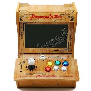 Image 3 - باندورا بوكس 6 البلاستيك بارتوب 2 اللاعبين ماكينة صالة الألعاب الصغيرة 10 بوصة شاشة مزدوجة مزدوجة القتال لعبة وحدة التحكم ممر لعبة ثلاثية الأبعاد
