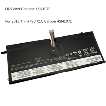 ONEVAN Gneuine 45N1070 45N1071 Laptop Battery For Lenovo 2013 ThinkPad X1 Carbon Series 3444 3448 3460 Tablet Free Shipping image