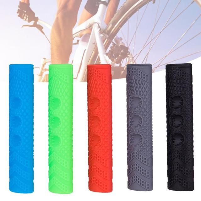 1 pair Bike Bicycle Brake Lever Cover Multicolor Bike Handle Sleeve Accessories