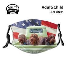 Masque de protection buccal réutilisable, filtre pour hommes, femmes et enfants, masques Boesarts, chiens Wpg