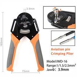 IWD 16 zaciskarki Harley zaspokoić piller narzędzie ręczne dla Deutsch złącze Deutsch DT  DTM  DTP terminal w2 szczypce 18/16/14 AWG w Kombinerki od Narzędzia na