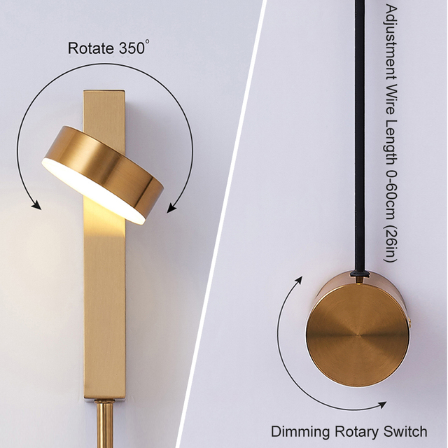 Light Modern Wall Deco Lamp 4