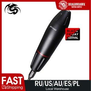 Image 1 - Yeni döner dövme tabancası güçlü Motor kaynağı yüksek kalite kartuşları dövme kalem malzemeleri