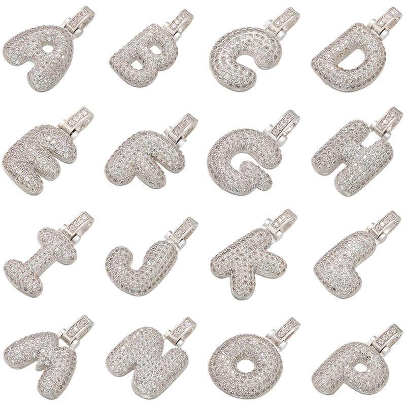 ZHUKOU 20x29mm delicato 26 argento lettera di colore del pendente per le donne fatti a mano FAI DA TE collana orecchini accessori di gioielli modalità: VD61